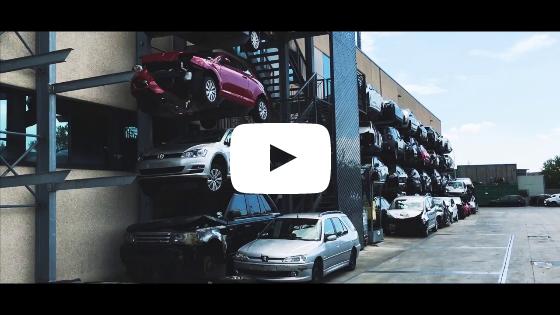 Как мы разбираем автомобили на запчасти. Разборка